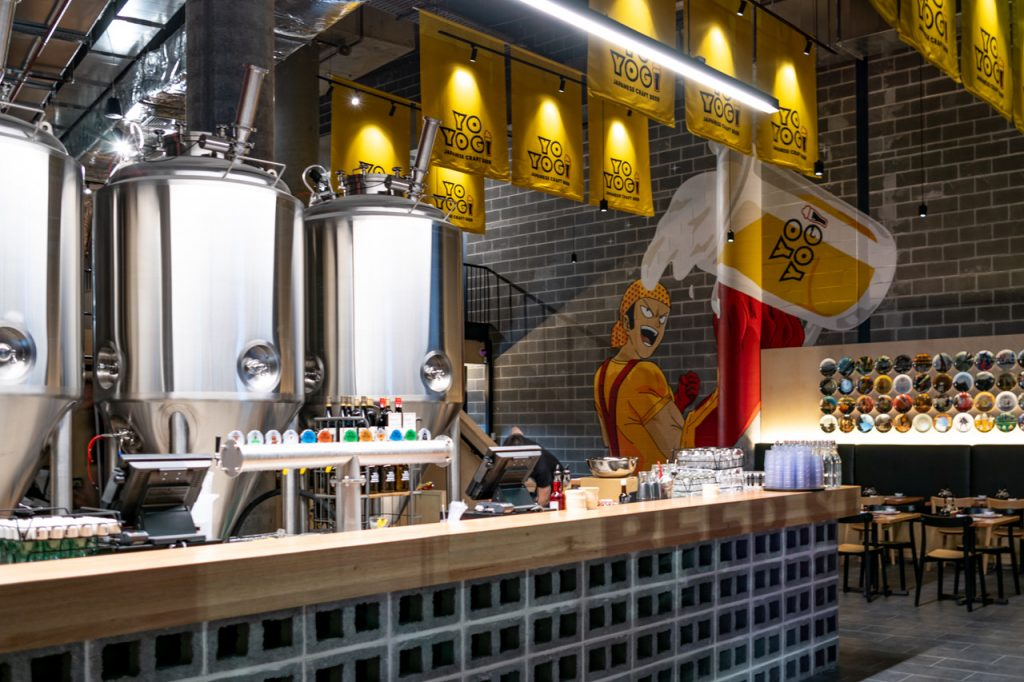 Yoyogi brewery darling harbour