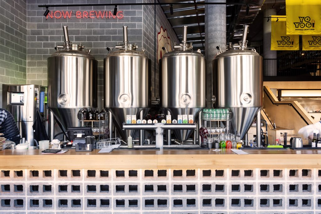 Yoyogi brewery found onsite at Darling Harbour